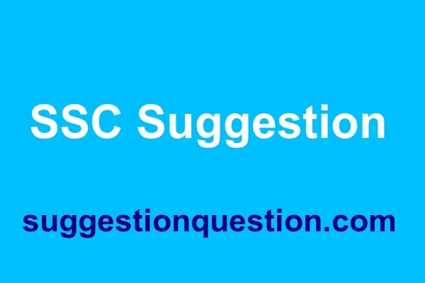 SSC Suggestion 2019 All Board Pdf