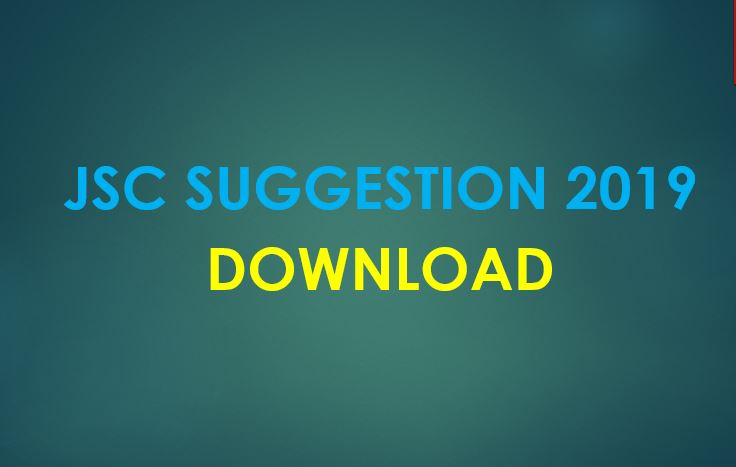 Download JSC English 1st Paper Suggestion 2019